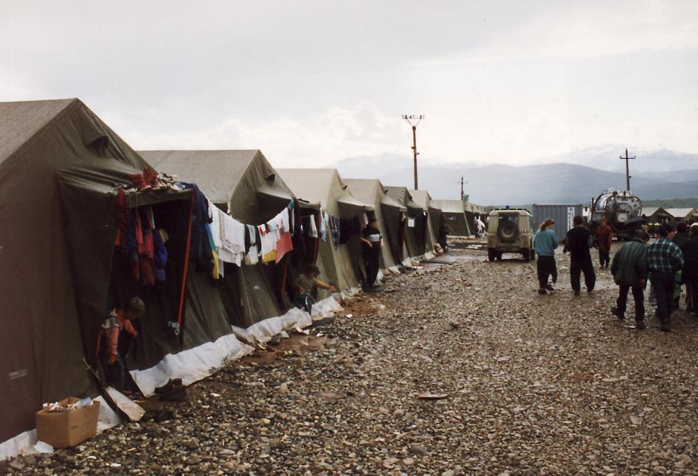 Camps de réfugié en Syrie